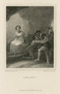 Tempest, act 5, sc. 1 [graphic] / painted by R. Smirke, R.A. ; engraved by S. Davenport.