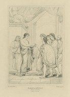 Timon of Athens, act 1, scene 2 ... [i.e. act 1, scene 1] [graphic] / painted by H. Howard ; Starling sc.