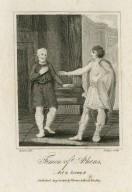 Timon of Athens, act 2, scene 4 [i.e. act 3, scene 1] [graphic] / Rivers, del. ; Ridley, sculp.