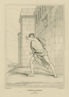 Timon of Athens, act 4, scene 1, without the walls of Athens, Timon [graphic] / painted by H. Howard ; Starling sc.