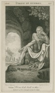 Timon of Athens, act 4, sc. 1, Timon: Let me look back on thee -- [graphic] / [Henry] Fuseli R.A., del. ; R.H. Cromek, sc.