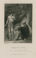 Timon of Athens, Flavius: And whilst this poor wealth lasts, act IV, sc. III [graphic] / H. Corbould ; C. Heath.