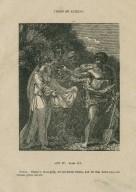 Timon of Athens, act IV, scene 3, Timon: There's more gold ... [graphic] / [John Thurston] ; engraved by Allen Robert Branston.