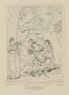Titus Andronicus, act II, scene III [graphic] / painted by S. Woodforde ; Starling sc.