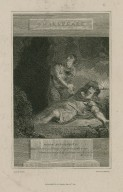 Titus Andronicus, Mart.: Upon his bloody finger he doth wear ... act II, sc. 4 [i.e. scene 3] [graphic] / drawn by Thurston ; engrav'd by Armstrong.