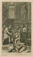 [Titus Andronicus, act 5, scene 2] [graphic] / Lud. Du Guernier inv. et. sculp.