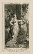 Two gentlemen of Verona, act I, sc. 1 [i.e. scene 2] Julia: Go, get you gone ... [graphic] / [Henry] Fuseli, del. ; [William] Bromley, sculp.