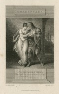 Two gentlemen of Verona, Julia: Keep this remembrance for thy Julia's sake, act II, sc. 2 [graphic] / drawn by H. Tresham R.A. ; engrav'd by C. Warren.