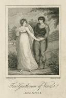Two gentlemen of Verona, Act II, scene 2 [graphic] / W. Hopwood del. ; Hopwood sculp.