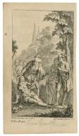[Two gentlemen of Verona, act V, scene 4] [graphic] / H. Gravelot, in & del. ; G. Vander Gucht, scul.