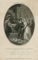 Winter's tale, Paulina bringing the child to Leontes: Paulina I pray you [graphic] / engraved by Isaac Taylor Junr. from a drawing by Robert Smirke.