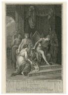 Winter's tale, act 2d, scene 3d, the palace, Leontes, Antigonus, Paulina, & infant Perdita & c. [graphic] / painted by W. Hamilton, R.A. ; engraved by F. Bartolozzi, R.A.
