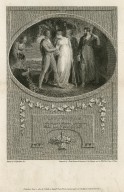 Winter's tale: Mark your divorce, young sir, whom son I dare not call [act IV, scene IV] [graphic] / painted by W. Hamilton R.A. ; engraved by J. Heath.