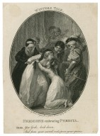 Winters tale, Hermione embracing Perdita, Herm.: You gods, look down, and from your sacred vials pour your graces [graphic] / engraved by Isaac Taylor Junr. ; from a drawing by Thos. Stothard.