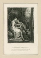 A lover's complaint, Look here what tributes wounded fancies sent me ... [graphic] / H. Corbould ; F. Bacon.