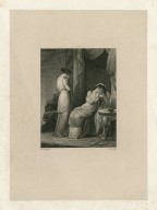 Rape of Lucrece, One justly weeps [graphic] / H. Corbould ; H. Rolls.