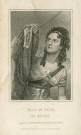Miss M. Tree as Ariel [in Shakespeare's Tempest] [graphic] / engraved by T. Woolnoth, from a drawing by Wageman.