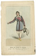 Miss M. Tree as Julia, in The two gentlemen of Verona [graphic] / drawn & engd. by J. Findlay.