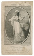 Mrs. Ward in Portia [in Shakespeare's] Julius Caesar, act 2, scene 1, Dear my lord ... [graphic] / Ramberg, delt. ; C. Sherwin, sculpt.