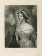 Marie Bayer-Bürck als Ophelia [in Shakespeare's Hamlet] [graphic] / C. Vogel v. Vogelstein, pinxt. ; A.H. Payne, sculpt.