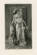 Sarah Bernhardt as Cleopatra [graphic].