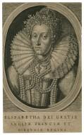 Elisabetha dei gratia Angliae Franciae et Hiberniae regina [graphic] / [after the portrait of Oliver].