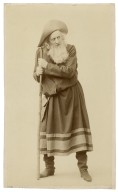 Charles Fisher as Adam [Shakespeare's As you like it] [graphic].