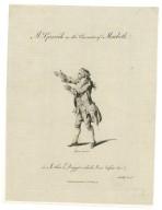 Mr. Garrick in the character of Macbeth [in Shakespeare's Macbeth] ... [graphic] / Dodd del. ; Taylor scul.