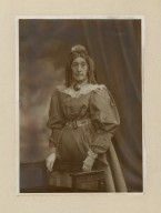Mrs. G. H. Gilbert ... as a dancer in Augustin Daly's revival of [Boucicault's] London assurance (road, N.Y.), season of 1896-97 [graphic].