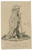 """Mr. Grist in the character of Edgar, in King Lear """"Through the sharp hawthorn ..."""" [graphic] / drawn by E. Needham ; engrav'd by D. Martin."""