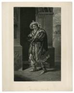 Kean as Richard III, Eng. [graphic] / C. Turner after J. J. Hall.