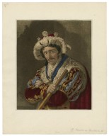 Mr. Kean in Richard the third ... [graphic] / [engraved by C. Turner [no. 50 & no. 51, copy 1]].