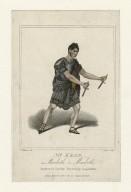 Mr. Kean, as Macbeth in Macbeth [graphic] / C. Williams, del. ; J. Carver, sculp.