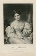 Fanny Kemble [graphic] : likeness from a painting by Sir Thomas Lawrence / painted by Alonzo Chappel.