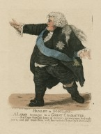 Hamlet in Scotland, a large manager in a great character [graphic] / drawn & etchd. by R. Dighton.