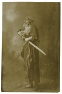 R.B. Mantell [possibly in character of King Lear, in Shakespeare's play of that name] [graphic].