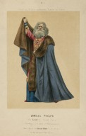 Samuel Phelps als Lear in König Lear, Trauerspiel in 5 acten von W. Shakespeare [graphic] / lith. Atel: von Louis Vert.