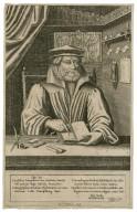 Quis hic? Candidus: intrepidus; verax; studiosus honesti ... Sleidanus, F. Johannes Paulus Crusius P.L. [graphic] / Iac v. Heyden, sculp.