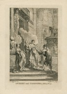 Anthony and Cleopatra, act 5, sc. 5 [i.e. 2] [graphic] / F. Hayman inv. ; H. Gravelot sculp.