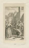 [Comedy of errors, act V, scene 1] [graphic] / H. Gravelot, in. & del. ; G. Vander Gucht, scul.