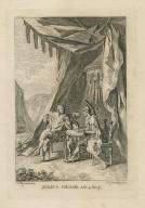 Julius Caesar, act 4, sc. 3 [Brutus & Cassius] [graphic] / F. Hayman inv. ; H. Gravelot sculp.