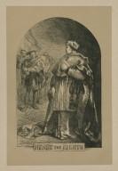 Henry the Eighth [act III, scene 2] [graphic] / J. Gilbert ; Dalziel, sc.