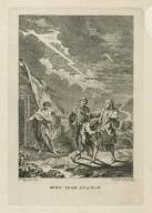 King Lear, act 3, sc. 6 [i.e. 4] [graphic] / F. Hayman inv. ; H. Gravelot sculp.