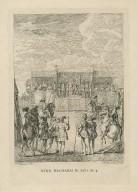 King Richard II, act 1, sc. 4 [i.e. 3] [graphic] / F. Hayman, inv. ; H. Gravelot, sculp.