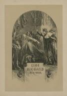 King Richard second [act ii, scene 1] [graphic] / JG ; Dalziel, sc.