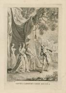 Love's labour's lost, act 5, sc. 4 [i.e. sc. 2] [graphic] / F. Hayman inv. ; H. Gravelot sculps.