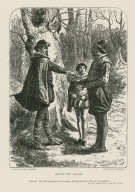 Armado and Costard ... bear this significant to the country maid Jaquenetta, there is remuneration, Love's labour's lost, act III, scene I [graphic] / drawn by J. McL. Ralston ; engraved by J. Quartley.