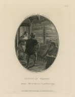 Merchant of Venice, Jessica's elopement, Lorenzo: What, art thou come? on, genetlemen, away, [II, 6] [graphic] / engraved by Isaac Taylor junr. from a drawing by Robert Smirke.