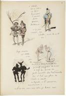 Le guignol de l'année [manuscript], 1895.