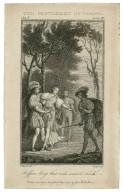 Two gentlemen of Verona, act V, scene IV: ruffian let go that rude uncivil touch [graphic] / E. Edwards, del. ; M. Liart, sculp.